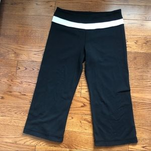 Cropped Lululemon Yoga Pants